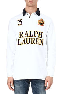 RALPH LAUREN Custom-fit rugby shirt