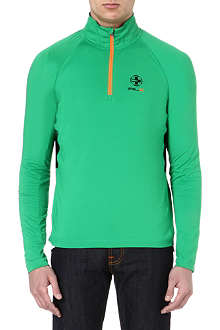 RALPH LAUREN Mockneck colourblocked sweatshirt