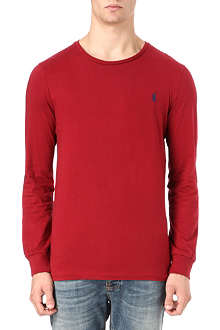 RALPH LAUREN Long-sleeve custom fit t-shirt