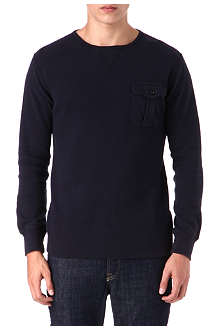 RALPH LAUREN Long-sleeved crewneck top