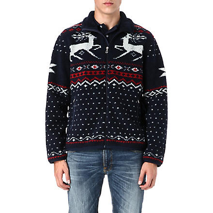 RALPH LAUREN Patterned fleece jacket (Nordic