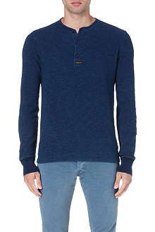 RALPH LAUREN Cotton Henley top