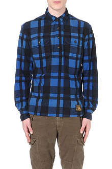 RALPH LAUREN Checked two-pocket shirt
