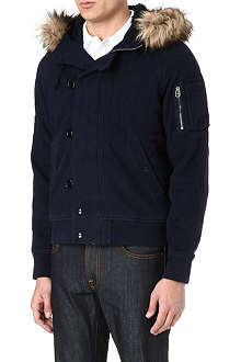 RALPH LAUREN Hooded snorkel jacket