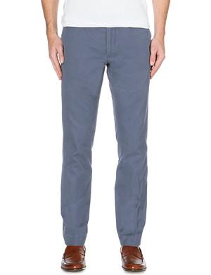 RALPH LAUREN Hudson slim-fit cotton trousers 32
