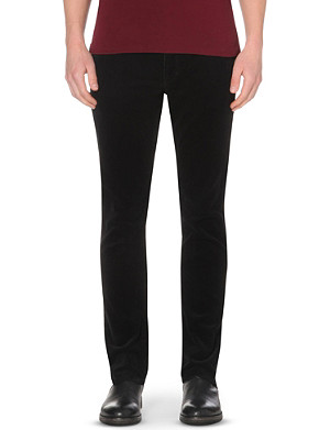 RALPH LAUREN Slim-fit straight-cut corduroy trousers