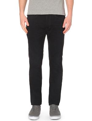 RALPH LAUREN Slim-fit straight-cut corduroy trousers