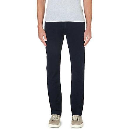 RALPH LAUREN Slim-fit straight jeans (Aviator+navy