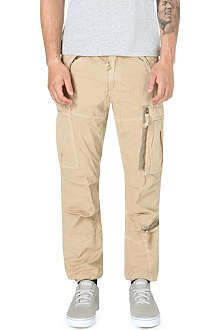 RALPH LAUREN Straight cargo trousers 32