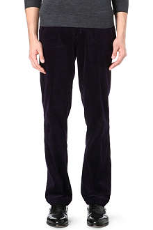 RALPH LAUREN Suffield classic-fit corduroy trousers 34