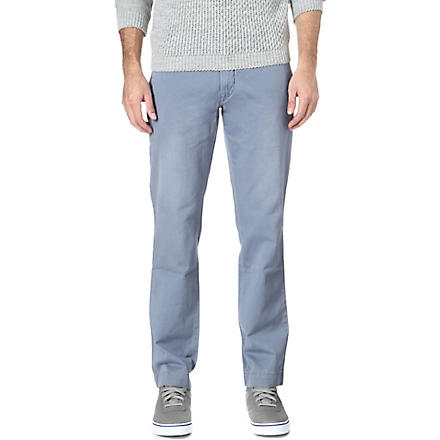 RALPH LAUREN Greenwich straight-fit trousers (Blueberry