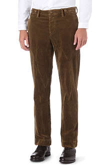 RALPH LAUREN Cumberland straight-fit corduroy trousers