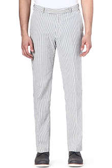 RALPH LAUREN Hudson striped slim-fit chinos 32