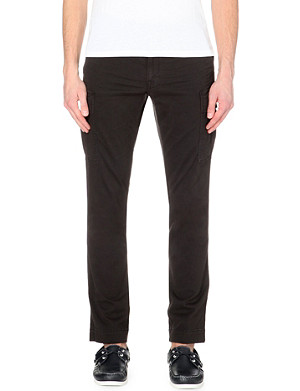 RALPH LAUREN Slim-fit stretch-cotton trousers
