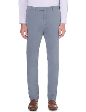 RALPH LAUREN Hudson stretch-cotton trousers