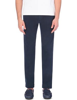 RALPH LAUREN Newport slim-fit cotton trousers