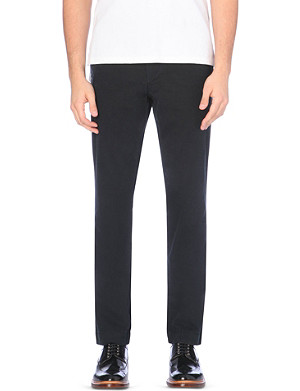 RALPH LAUREN Newport slim-fit cotton trousers
