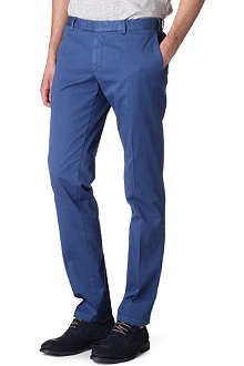 RALPH LAUREN Slim-fit preppy trousers
