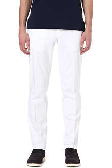 RALPH LAUREN Preppy tapered-leg chinos 32