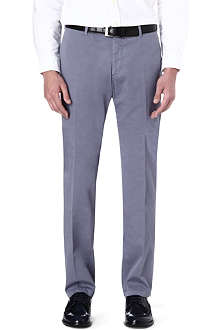RALPH LAUREN Preppy tapered-leg chinos 34
