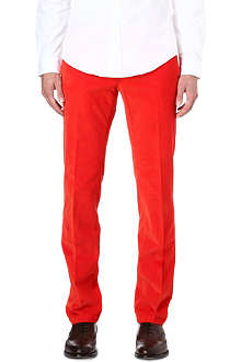 RALPH LAUREN Preppy cord trousers 34