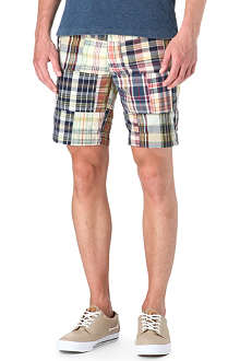 RALPH LAUREN Checked slim-fit shorts