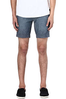 RALPH LAUREN Kingsley straight-fit chambray shorts