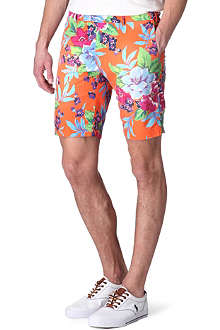 RALPH LAUREN Floral-print custom-fit shorts