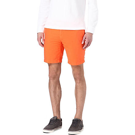 RALPH LAUREN Hudson straight-fit shorts (Cadmium
