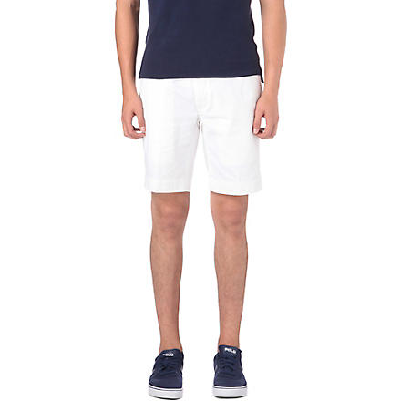 RALPH LAUREN Suffield classic-fit shorts (White