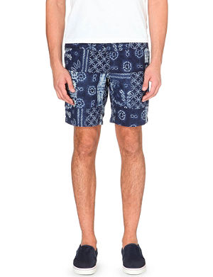 RALPH LAUREN Straight-fit maritime shorts