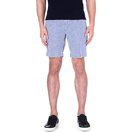 RALPH LAUREN New Haven straight-fit shorts (Bedford blue /w