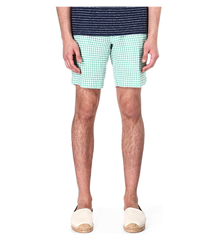 RALPH LAUREN New Haven straight-fit shorts (Bedford green /
