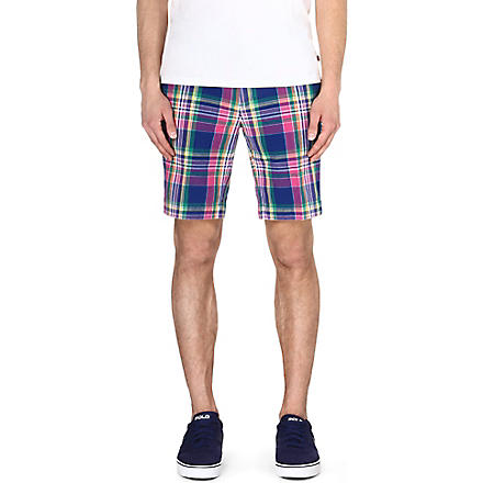 RALPH LAUREN New Haven classic-fit shorts (Rw1 - blue/pink