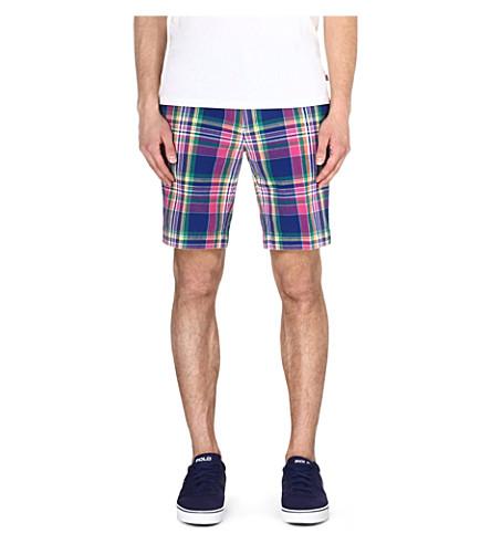RALPH LAUREN New Haven classic-fit shorts (Rw1 - blue/pink