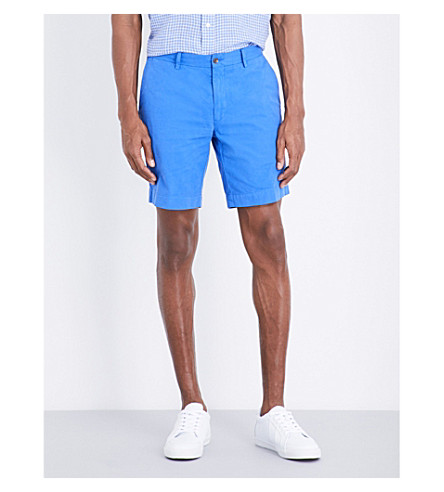 POLO RALPH LAUREN Straight-fit cotton shorts (Collection+roya