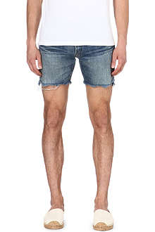 RALPH LAUREN Cut-off denim shorts