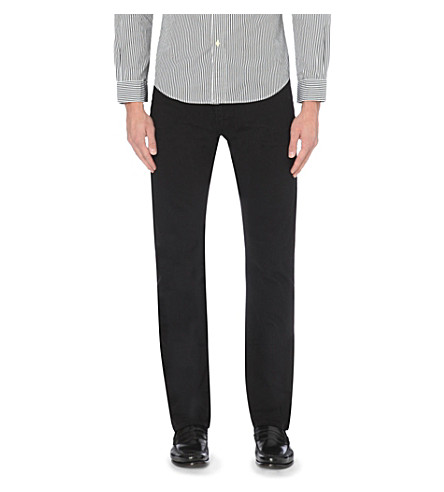 POLO RALPH LAUREN Varick slim-fit jeans (Hudson+black
