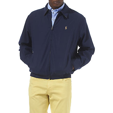 RALPH LAUREN Bi-swing windbreaker jacket (French+navy
