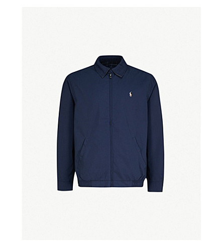 POLO RALPH LAUREN New fit bi-swing windbreaker jacket (French+navy