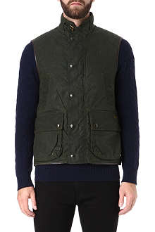 RALPH LAUREN Waxed cotton gilet