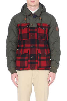 RALPH LAUREN Albans quilted check coat