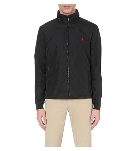 POLO RALPH LAUREN Mesh-lined shell jacket (Black