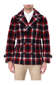 RALPH LAUREN Nordheim checked coat