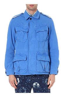 RALPH LAUREN Dunk-dyed jungle jacket