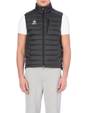 RALPH LAUREN Quilted shell jacket