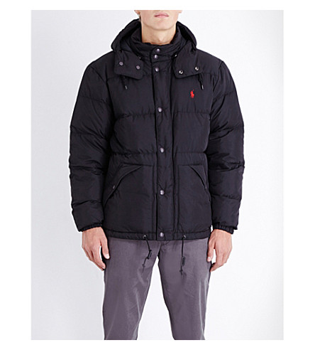 POLO RALPH LAUREN Elmwood quilted shell jacket (Polo+black
