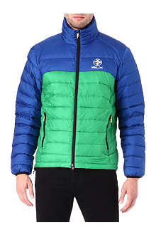 RALPH LAUREN Blocked explorer down jacket