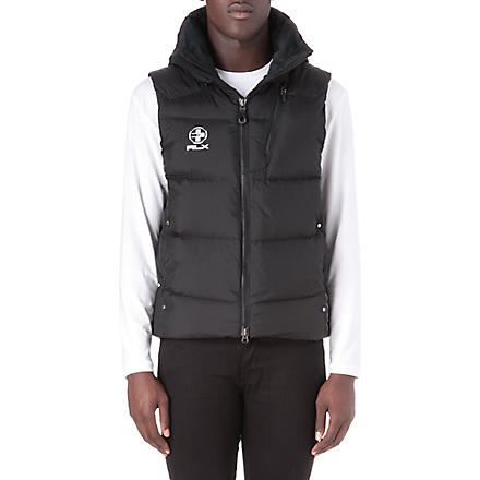RALPH LAUREN Core down vest gilet (Polo black