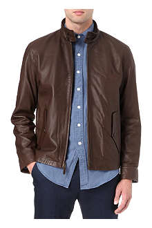 RALPH LAUREN Core Barracuda leather jacket